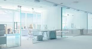 modern office interior. 3d Modern Office Interior Render : Stock Photo