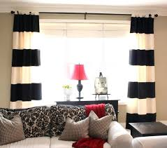 navy and white striped curtains window curtain ideas with horizontal striped curtains navy and white striped curtains