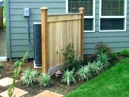 hide trash can outside how to your air conditioning unit 5 outdoor design ideas by cans hide trash can outside