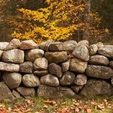 rock wall gardens stone walls