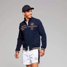 Abbigliamento sportivo Felpe adelstitel-kaufen.com Felpa Aeronautica  Militare frecce tricolori Blu FE1592 L