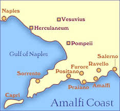25 best sorrento map ideas on pinterest southern italy map Map Of Italy Naples And Pompeii amalfi coast map and travel guide naples pompei map