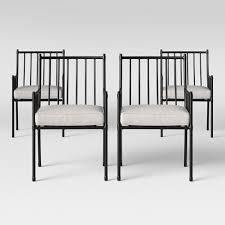 Fernhill 4pk Patio <b>Dining Chair</b> White - Threshold™ : Target