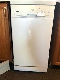 portable dishwasher spt 18 inch manual