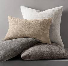Restoration Hardware Chenille Pillow Covers