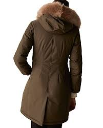 Massimo Dutti Womens Down Parka With Detachable Detail 6722