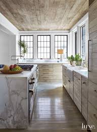 weathered rustic wooden ceiling