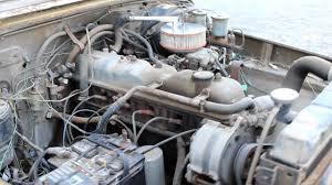 1976 Toyota FJ40 Land Cruiser 2F Engine - YouTube