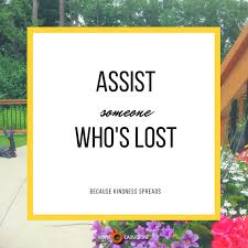 Assist Someone Whos Lost Because A Novel By Jack A