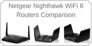 Cisco Wireless Router Comparison Chart Netgear Nighthawk 802 11ax Wifi 6 Routers Ax4 Vs Ax8 Vs Ax12