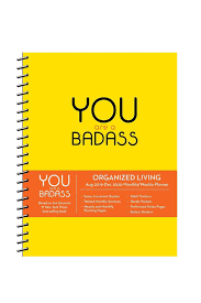 2020 2020 Weekly Planner You Are A Badass 2020 Day To Day Calendar