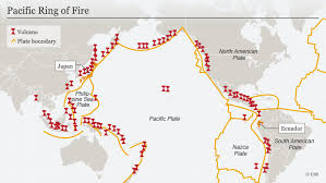 ring of fire five facts about the most earthquake e region in the world science in depth reporting on science and technology dw 07 12 2016