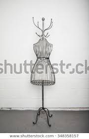 Mannequin Coat Rack Interesting Vintage Metal Coat Rack Metal Wire Stock Photo Edit Now 32