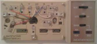 wiring trane questions & answers (with pictures) fixya what do the letters on a thermostat mean at Ge Thermostat Wiring Diagram