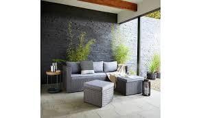 argos home mini corner sofa set