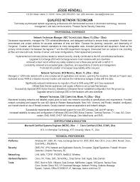 ... Fascinating Network Technician Resume Also Network Technician Resume  Examples