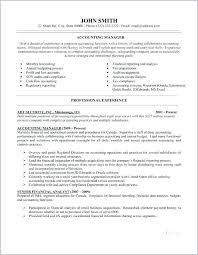 Resume Samples For Accounting Accounting Resume Samples Good