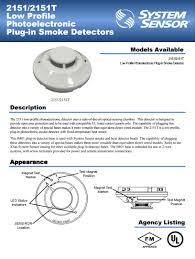 smoke detector ชนิดโฟโต้อีเลคทริก รุ่น 2151 ยี่ภ้อ system sensor smoke detector ชนิดโฟโต้อีเลคทริก รุ่น 2151 ยี่ภ้อ system sensor มาตรฐาน ul fm