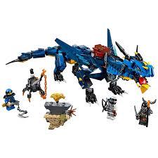 ĐỒ CHƠI LEGO NINJAGO 70652 Rồng điện Stormbringer - Đồ chơi Minecraft chính  hãng