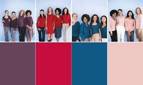 Skin Tone Clothing Chart Choose The Best Clothing Colors For Your Skin Tone