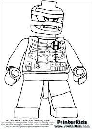 Printable Coloring Pages Of Animals With Big Eyes Lego People