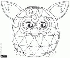 Furby Coloring Pages Printable Games