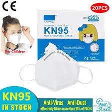 <b>Children KN95 Anti Pollution</b> Masks FFP2 Anti Dust PM2.5 Face ...