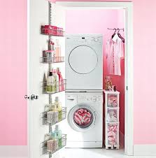 Laundry room makeovers charming small Cleaning View In Gallery Pink Decoist 30 Coolest Laundry Room Design Ideas For Todays Modern Homes