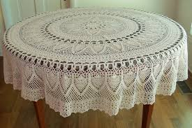 70 inch round vinyl lace tablecloth round designs