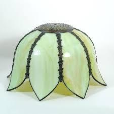 slag glass lamp shade slag glass lamp shade repair slag glass lamp