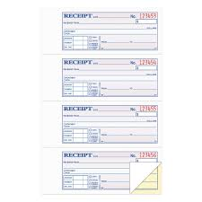 tops two part carbonless money and rent receipt books x  click to zoom