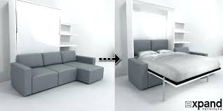 horizontal murphy bed sofa. Bed Couch Sofa Combo Plans Wall Beds Regarding Expand Furniture Prepare 19 Horizontal Murphy L