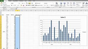 Create A Chart In Excel 2010 How To Make A Bar Graph In Microsoft Excel 2010 For Beginners