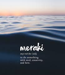 Ocean Quotes Adorable Meraki Definition Creativity Quote Ocean Sunset Photographic