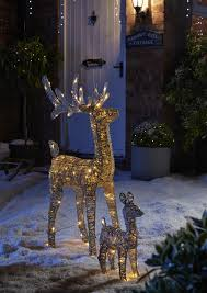 Reindeer Christmas Lights Outdoor Pin By B Q On Scandi Christmas Outdoor Christmas Reindeer