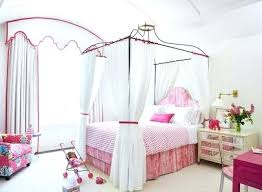 Canopy Bed Full Size Girls Full Canopy Bed Implausible Home Design ...