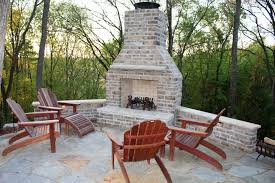 hd pictures of outdoor brick corner fireplace