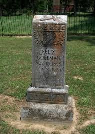 Felix Grundy Coleman (1855-1924) - Find A Grave Memorial