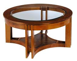 coffee table round wood coffee table solid wood coffee table with glass top round glass round