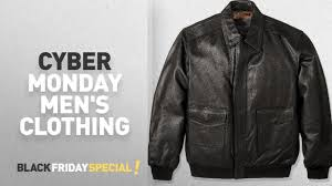 cyber monday excelled leather men s clothing excelled men s big and tall leather flight jacket