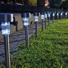 Solar Garden Lights Sale Uk  Venetian Stainless Steel Solar Garden Solar Lights For Sale