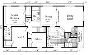 Woodland Log Home Floor Plan First Floor Bedroom Ranch House