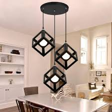 senarai harga cogoo designer modern square 3 head pendant light terkini di malaysia