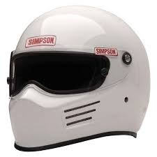 Simpson Racing Helmet Sizing Chart Simpson 6200021 F Bandit Full Face Racing Helmet White M Size