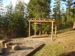 build a wood boat shed