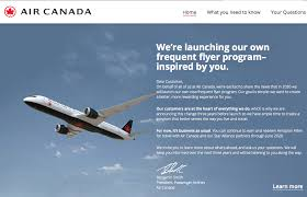 Air Canada To Launch Its Own Loyalty Program In 2020 Page