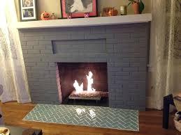 glass tile fireplace brick heat resistant paint proof tiles