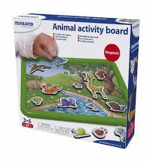 <b>MINILAND Набор</b> обучающий Животные в лесу с магнитно ...