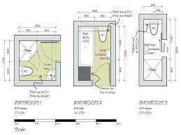 shower cubicles plan. Small Bathroom Floor Plans 3 Option Best For Spacereally Shower Enclosures Very Cubicles Plan