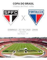 São Paulo x Fortaleza: veja onde assistir, escalações, desfalques e  arbitragem   copa do brasil